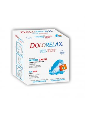 Dolorelax - ice hot cold - hot velcro