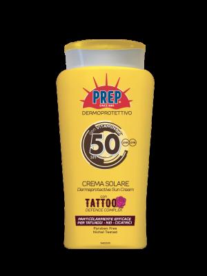 Prep Crema Solare Dermoprotettiva Tattoo SPF 50+