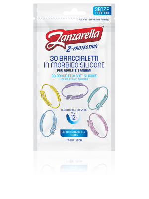 Zanzarella Z- Protection Braccialetti Antizanzara Adulti