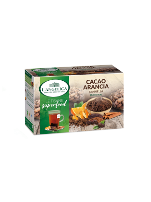 L'Angelica - Tisana Superfood Cacao Arancia e Cannella