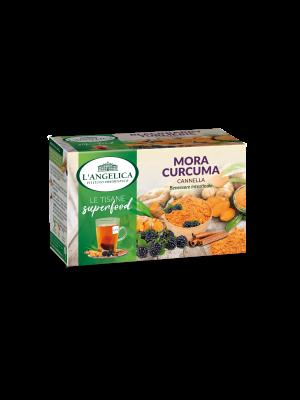 L'Angelica - Tisana Superfood Mora Curcuma e Cannella