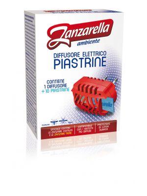 Zanzarella Ambiente - Diffusore Elettrico PIASTRINE