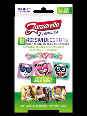 Zanzarella Z-Protection - Adesivi Emotic Panda
