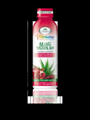 L'Angelica - Aloe Drink Melograno e Carota Nera
