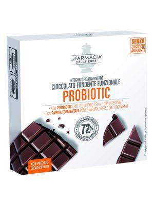 La Farmacia delle Erbe - Cioccolato Fondente Funzionale Probiotic
