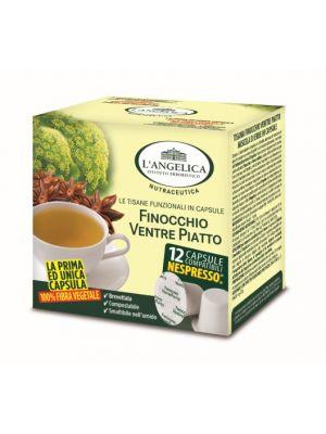 L'Angelica -Tisana Finocchio Ventre Piatto Veg. (comp sistema Nespresso)