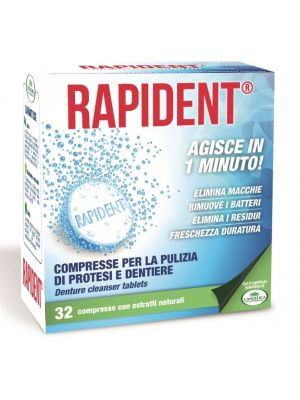 L'Angelica Rapident Compresse per la pulizia delle dentiere - 32 cps