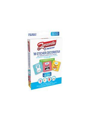 Zanzarella Z-Protection - Sticker Decorativi