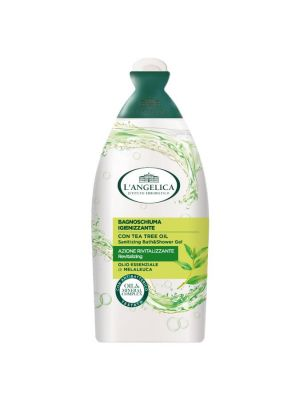 L'Angelica - Bagnoschiuma Antibatterico Tea Tree Oil e Melaleuca 500ml