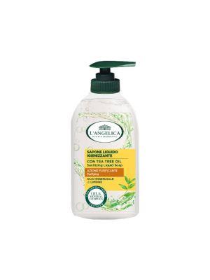 L'Angelica - Sapone Liquido Azione Igienizzante con Olio essenziale di Limone 300ml