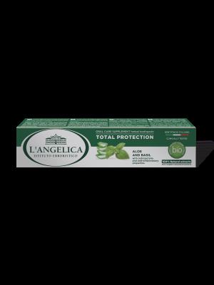 L'Angelica- Dentifricio Protezione Totale Aloe e Basilico 75ml