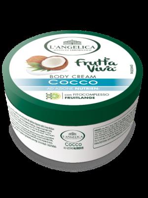 L'Angelica Fruttaviva Body Cream Cocco