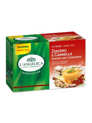 L'Angelica - Tisana Zenzero e Cannella