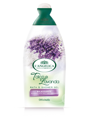 L'Angelica Officinalis - Bath&Shower Talc and Lavender 500ml