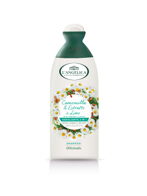L'angelica - Officinalis Shampoo 2in1 Capelli Delicati Camomilla&Estratto di Lino 250ml