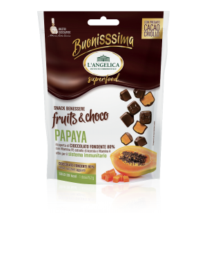 L'Angelica - BuonisSsima Fruits & Choco Papaya e cacao