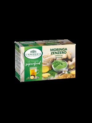 L'Angelica - Tisana Superfood Moringa Zenzero e Vaniglia