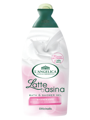 L'angelica - Officinalis Bagnoschiuma Latte D'Asina 500ml