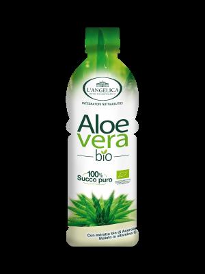 L'Angelica Integratore - Aloe Vera Bio succo puro 1L