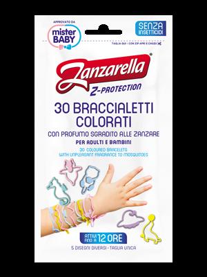Zanzarella Z- Protection Bracelet against mosquitoes for babies