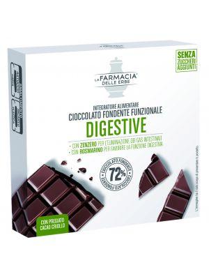 La Farmacia delle Erbe - Cioccolato Fondente Funzionale Digestive