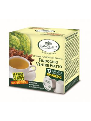 L'Angelica - Fennel flat stomach herbal tea (comp system Nespresso)
