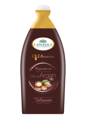 L'angelica  Bath&Shower Gel Olea Naturae- Argan Bio Oil 500ml