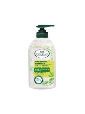 L'Angelica - Sapone Liquido Azione Igienizzante Con Olio essenziale di Melaleuca 300ml