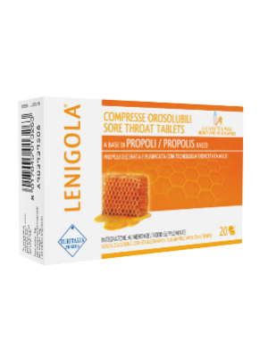 Lenigola Milk and honey soluble tablets