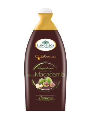 L'Angelica Bath&Shower Gel Olea Naturae-  Macadamia Oil 500ml