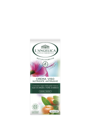 L'Angelica - Naturcosmetic Bio Crema Viso Nutriente Antirughe