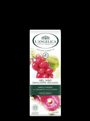 L'Angelica - Naturcosmetic Bio Gel Viso Esfoliante Delicato