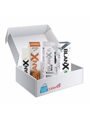 Kit Blanx Whitening & Stain treatment