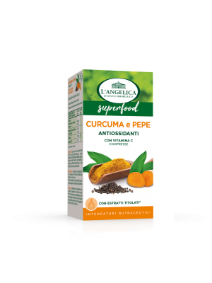 L'Angelica - Integratore Superfood Curcuma e Pepe Antiossidante
