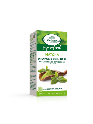 L'Angelica - Integratore Superfood Matcha drenante