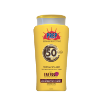 Prep derma-protective sun cream for Tattoos SPF 50+