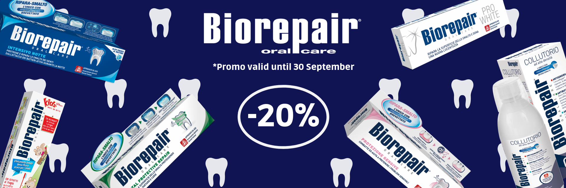 promo biorepair september