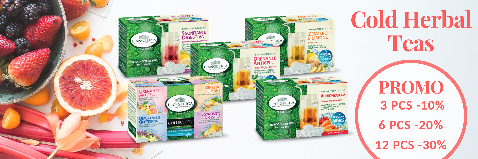 cold herbal teas