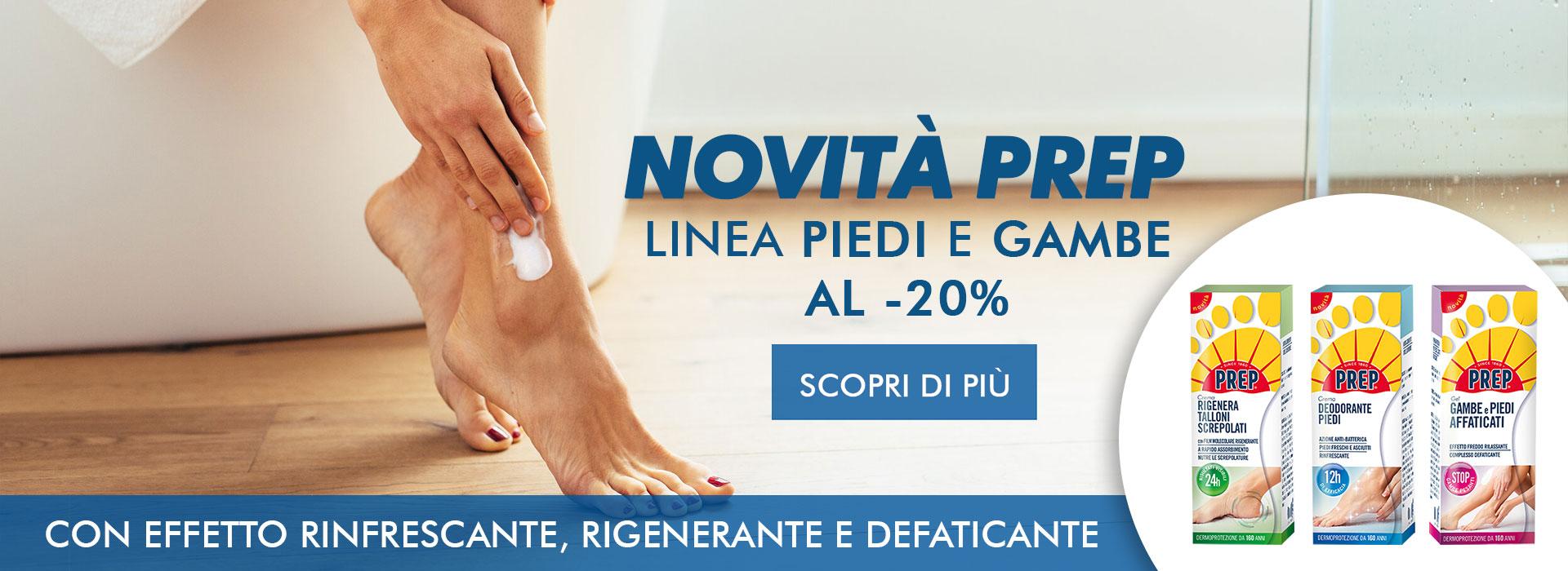 Prep Linea Piedi e Gambe -20%