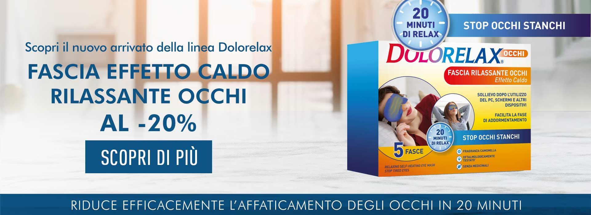 Dolorelax Fascia Occhi -20%