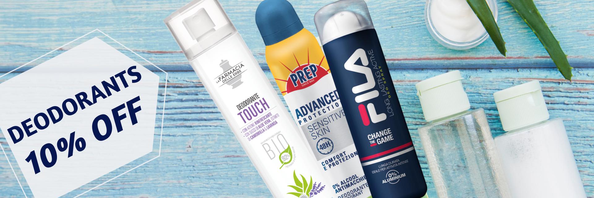 promo deodorants